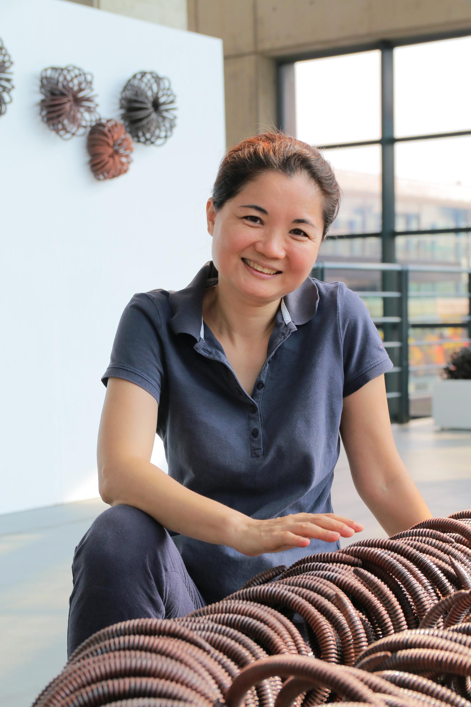 陶藝家蘇淑美。