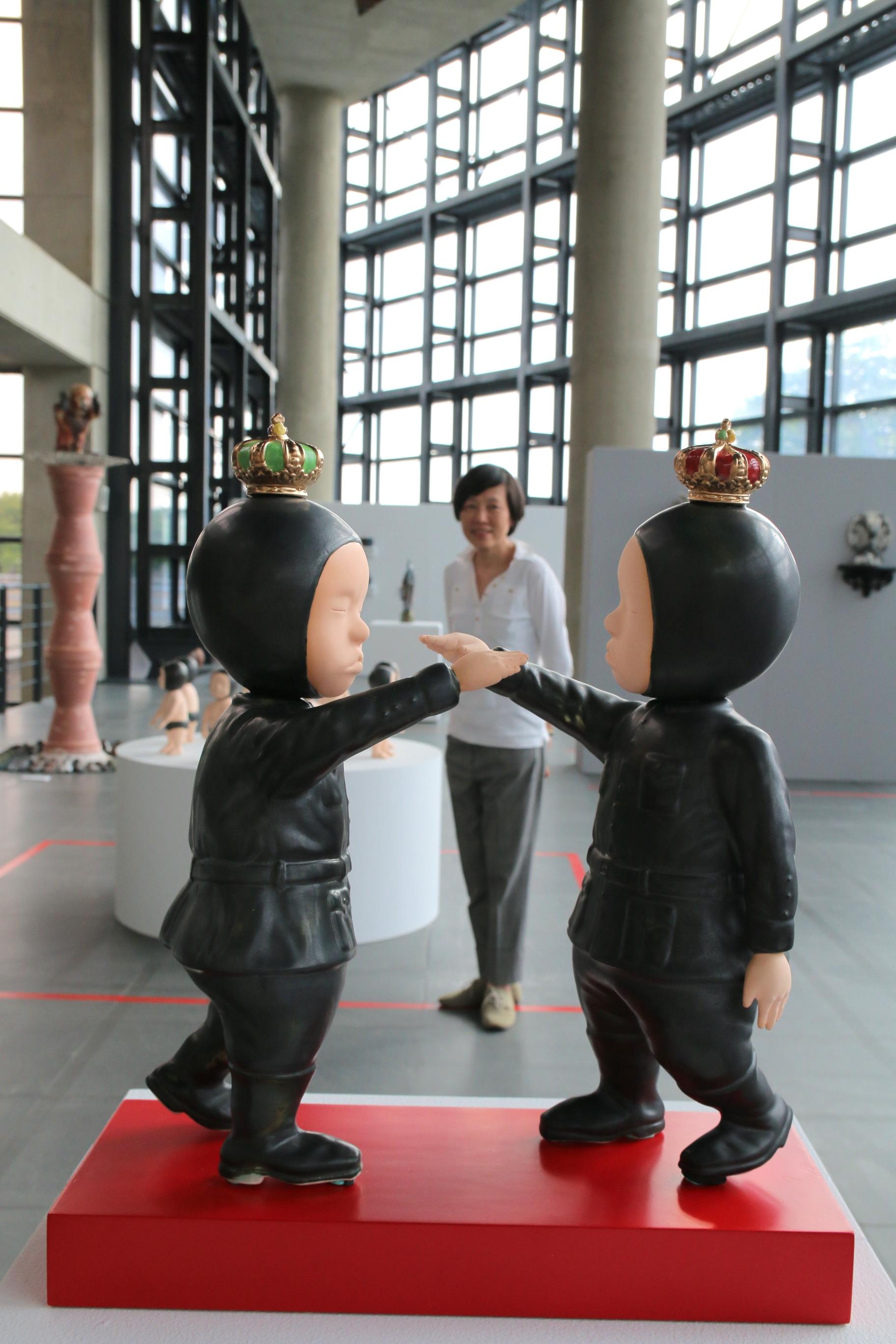 邵婷如與《關於小我-心之戰役》。