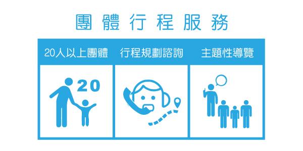 團體行程服務圖