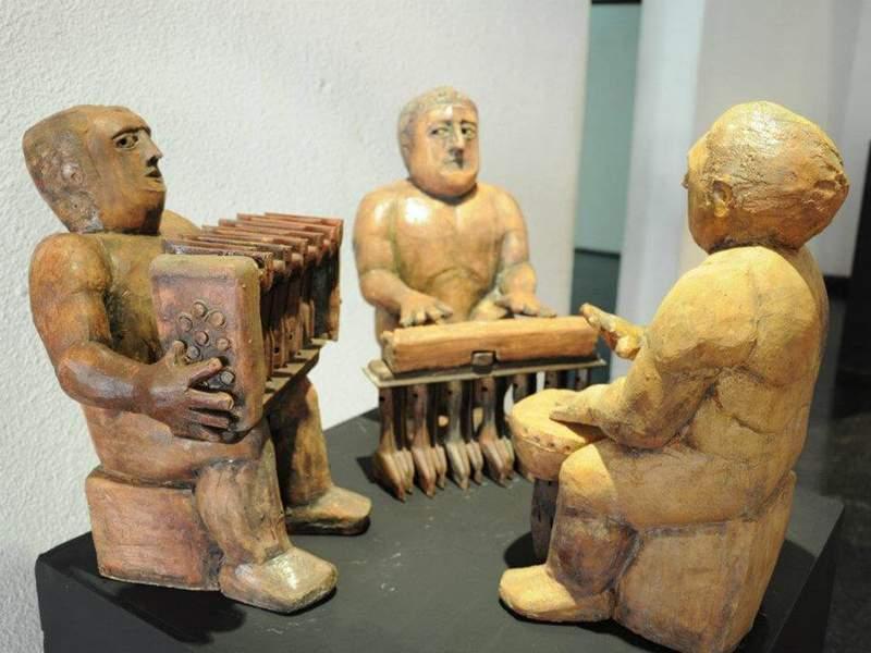 與西語系駐村陶藝家有約- 擬人雕塑與幾何建構