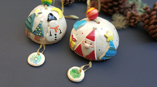 陶藝研習室-耶誕風鈴