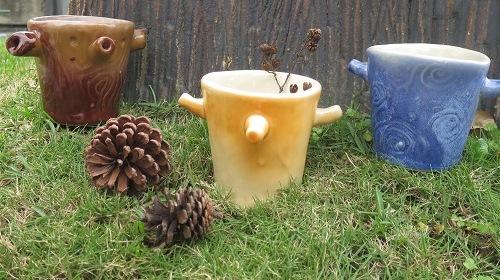 陶藝研習室-森呼吸小樹杯