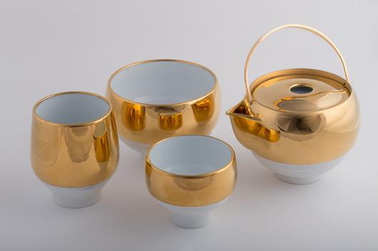 一即一切茶具-黃金繪系列