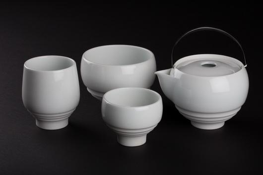 一即一切茶具-雪白釉系列