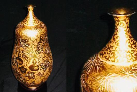 24吋鎏金系列之瓜瓞綿延葫蘆