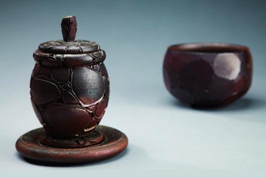 岩之茶器-個性柴燒茶組