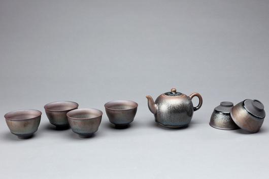 曜變天目七彩茶組